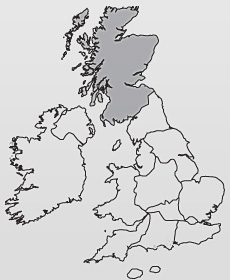 Location Map of the United Kingdom